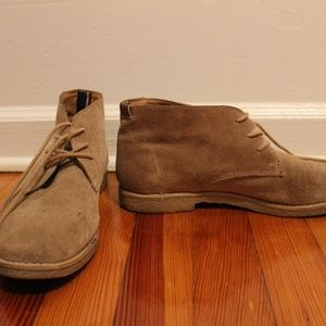 Brown Leather Tommy Hilfiger Shoes